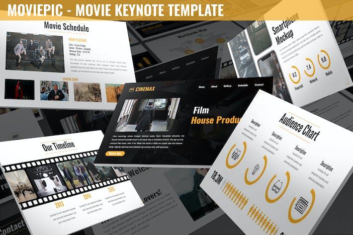 Moviepic - Movie Keynote Template