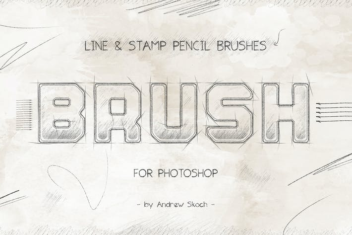 Thumbnail for Pencil Brushes Photoshop