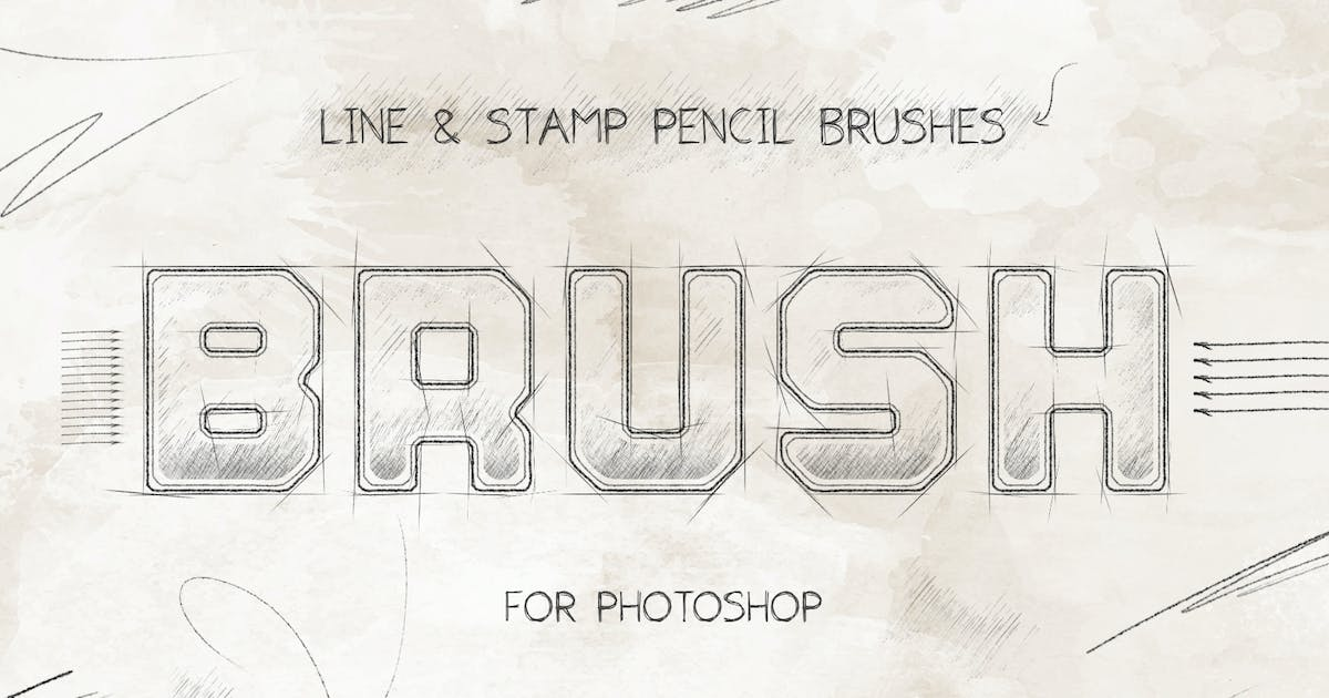 Download Pencil Brushes Photoshop by Sko4