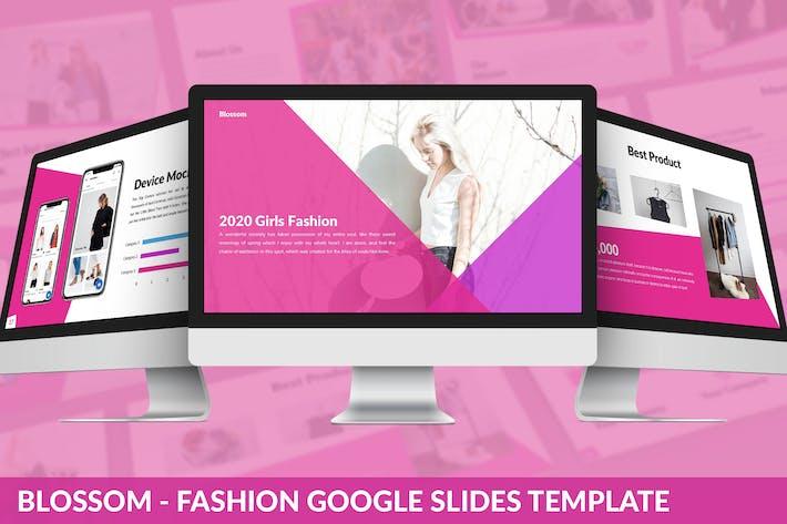 Thumbnail for Блоссом - Мода Google Слайды Шаблон