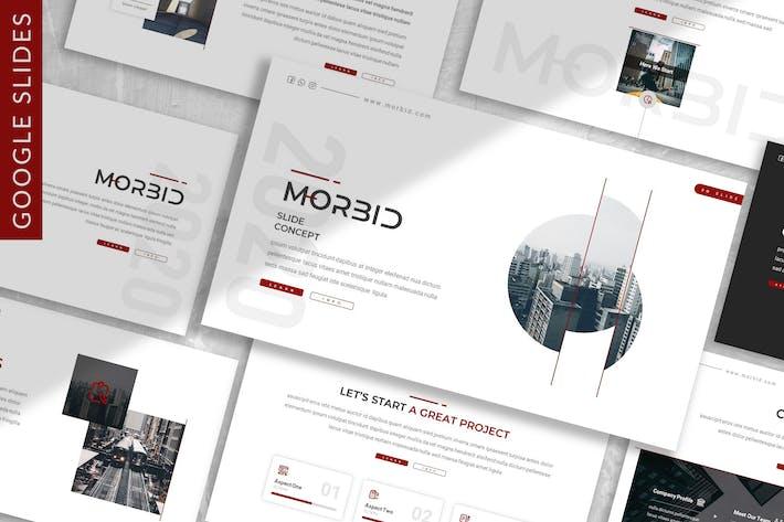 Thumbnail for Morbid - Business Google Slide Template