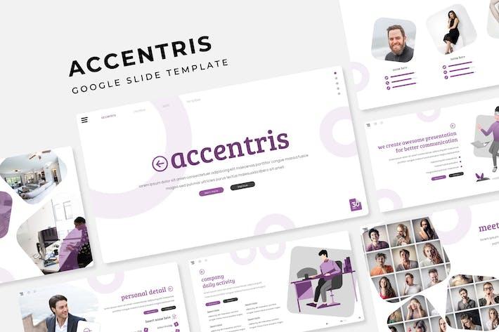 Thumbnail for Accentris - Plantilla de diapositivas de Google