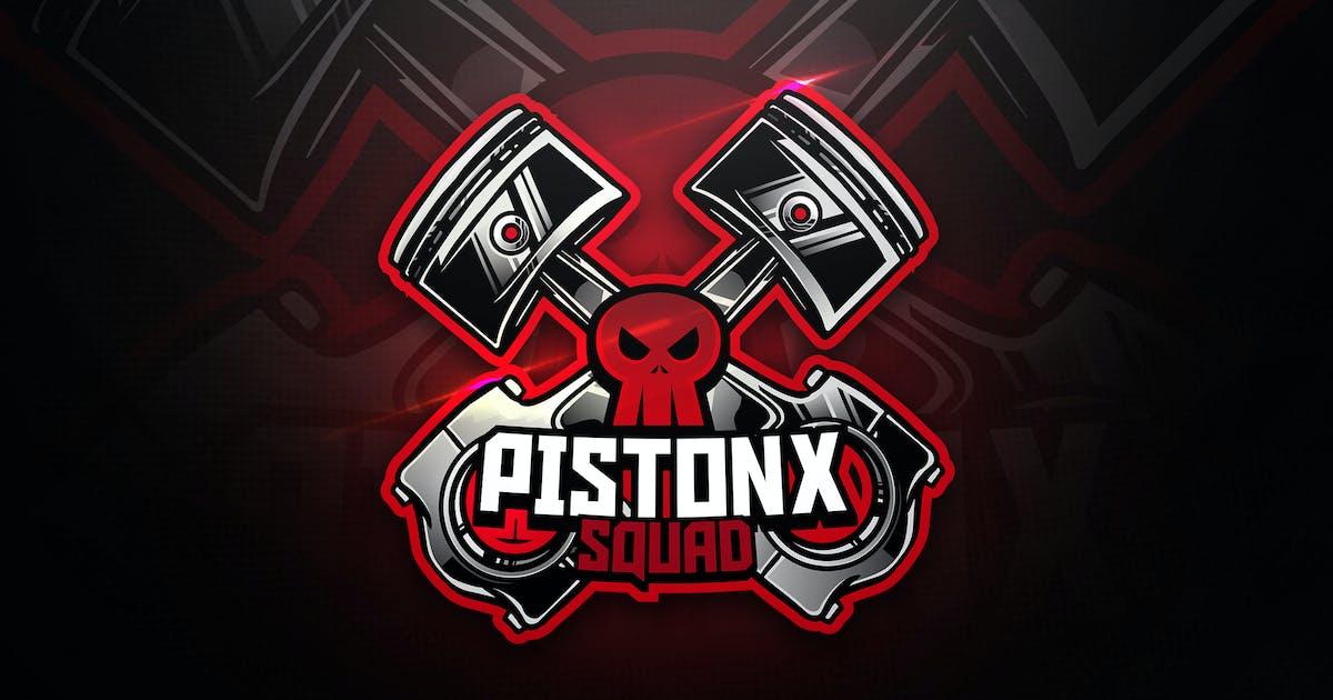 Download Pistonx Squad - Mascot & Esport Logo by aqrstudio