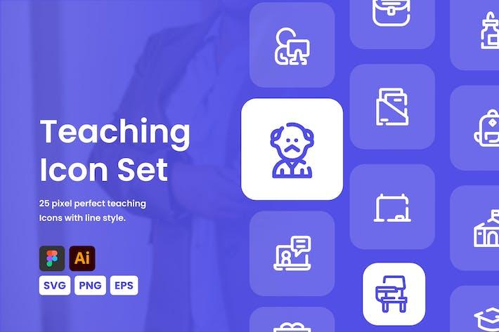 Teaching Icon Set