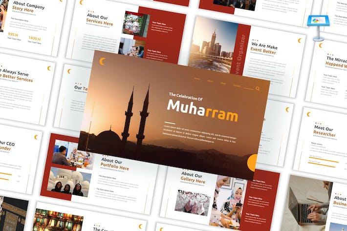 Muharram - Шаблон исламского празднования