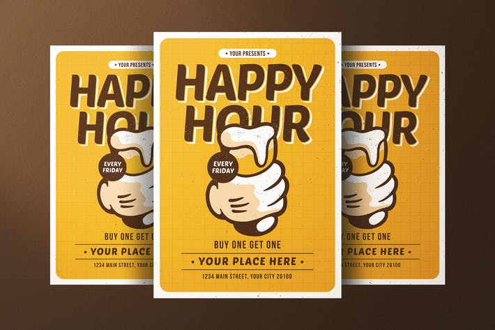 Thumbnail for Happy Hour Flyer