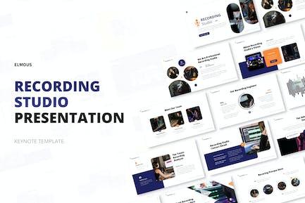 Recording Studio Keynote Template