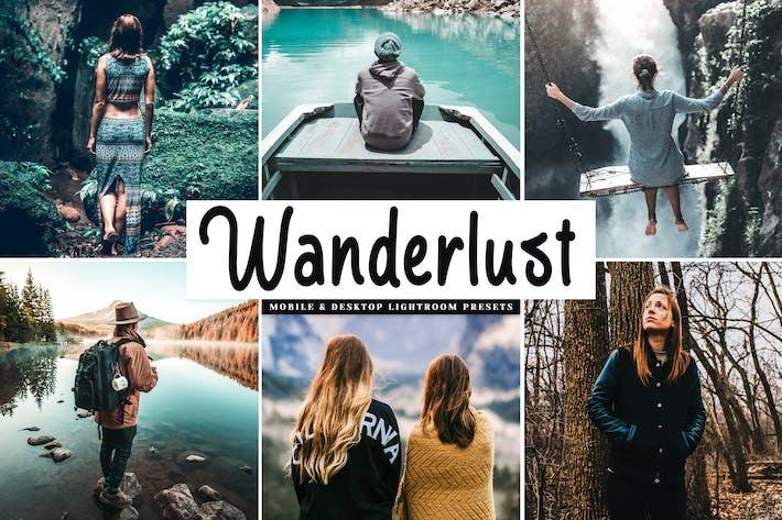 Thumbnail for Wanderlust Mobile & Desktop Lightroom Presets