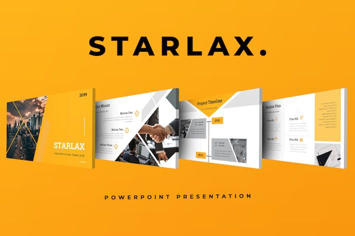 Thumbnail for Starlax Pitch Deck Powerpoint Presentation