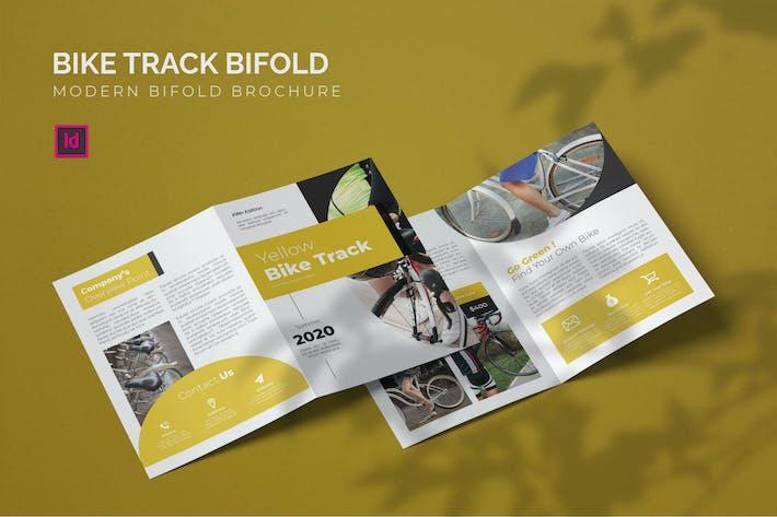 Thumbnail for Bike Track - Bifold Brochure