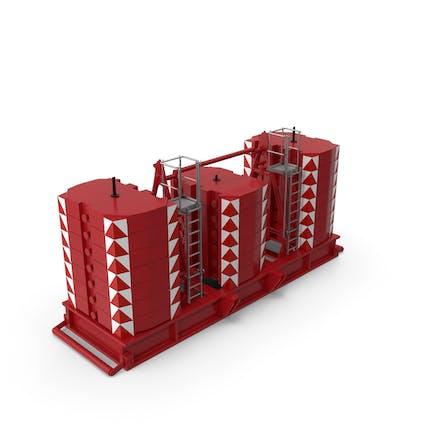 Crane Super Lift Counterweight Red