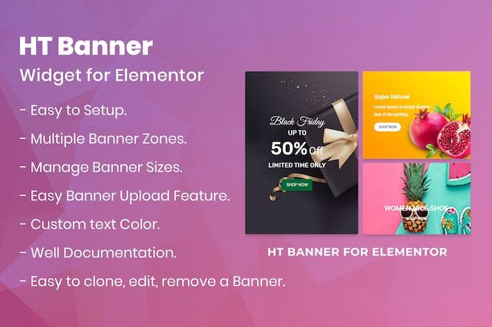 Thumbnail for HT Banner for Elementor