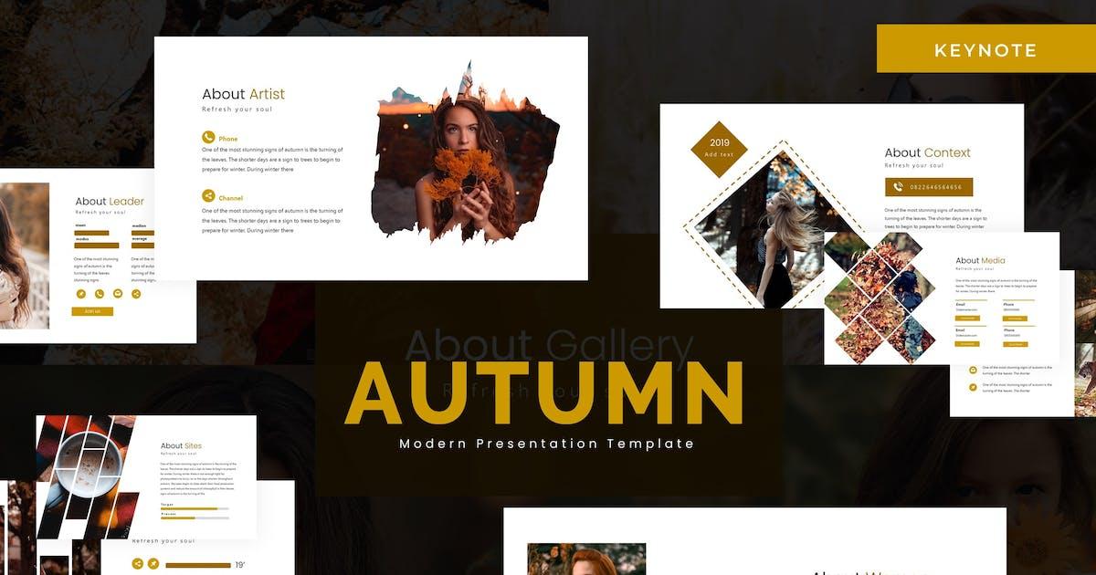 Download Autumn - Keynote Template by karkunstudio