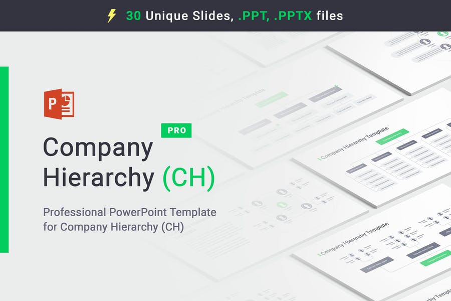 Company Hierarchy PowerPoint