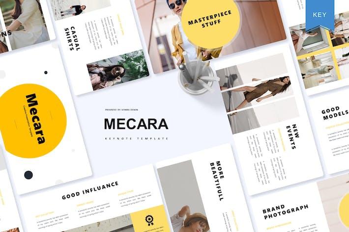 Thumbnail for Mecara | Keynote Template