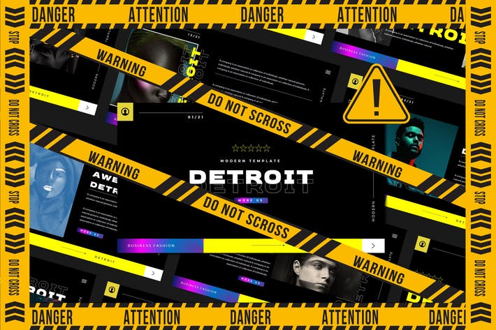 Detroid - Google Slide Template