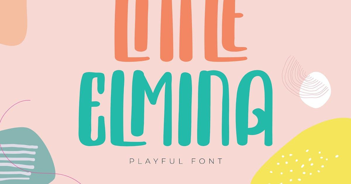 Download Little Elmina | Playful Font by Vunira