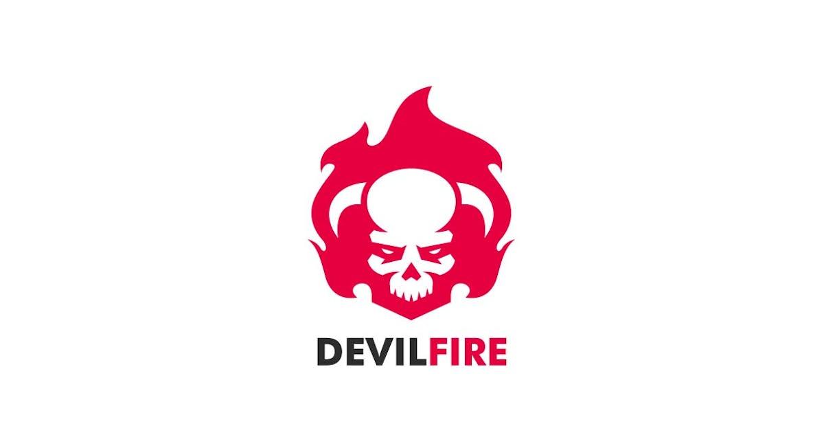 Download Devil Fire Sports and E-sports Style Logo by ivan_artnivora