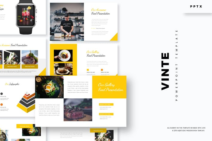 Cover Image For Vinte - Powerpoint Template