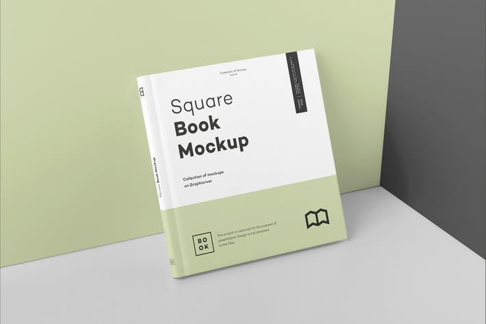 Thumbnail for Square Book Mock up 2