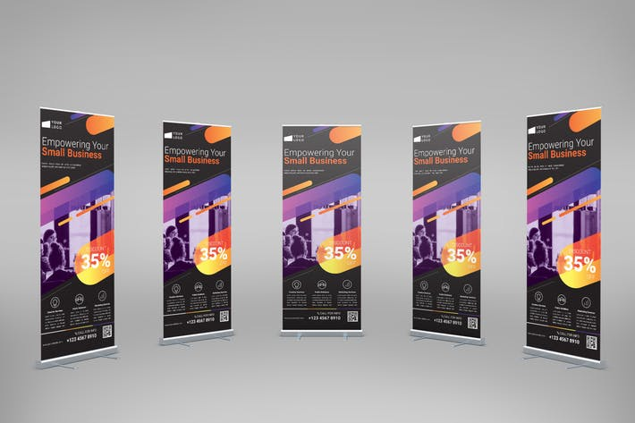 Thumbnail for Digital Business - Roll-Up Banner