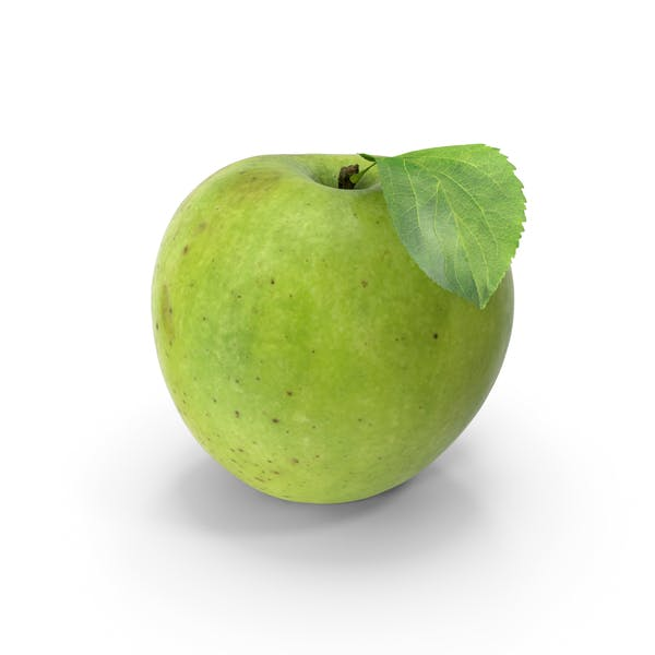 Thumbnail for Green Apple With Leaf