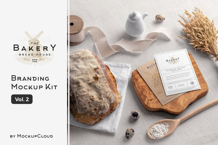 Thumbnail for Bakery Branding Mockups Vol. 2