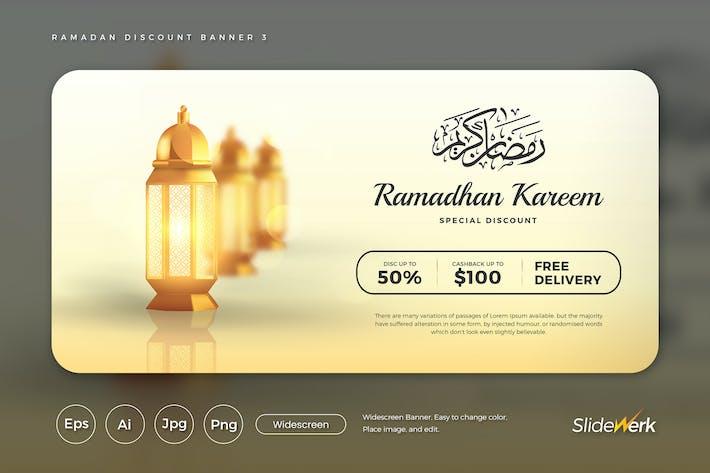 Thumbnail for Ramadan Kareem Discount Banner 3 (GI)