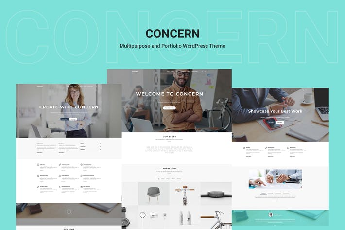 Thumbnail for Concern - Multipurpose and Portfolio WordPress