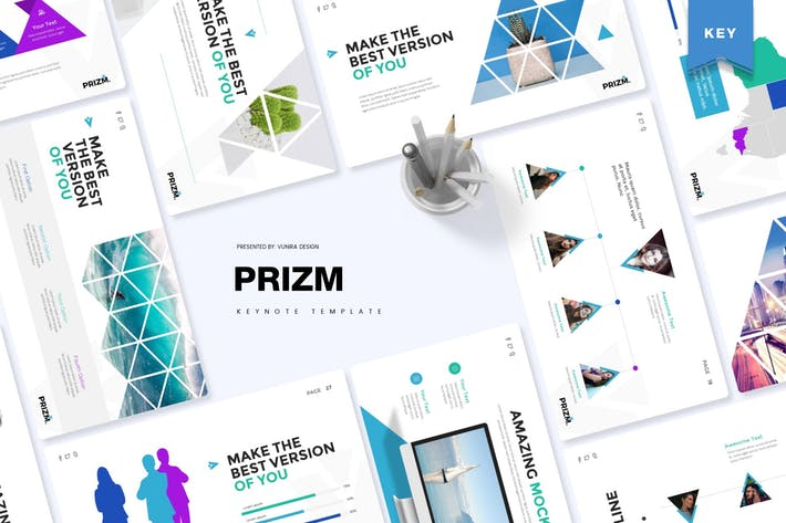 Thumbnail for Prizm | Google Slides Template