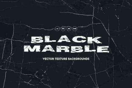 Black Marble Vector Texture Backgrounds