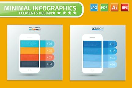 Mobile phone Infographic Design