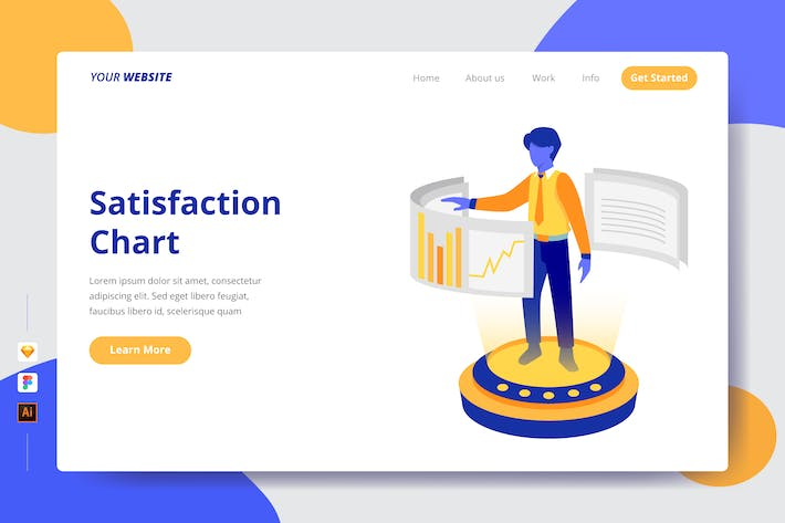 Thumbnail for Satisfaction Chart - Landing Page
