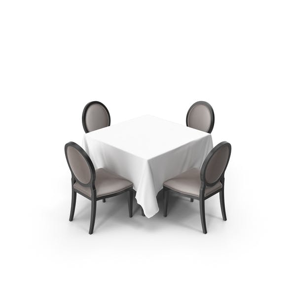 Banquet Dining Table Set