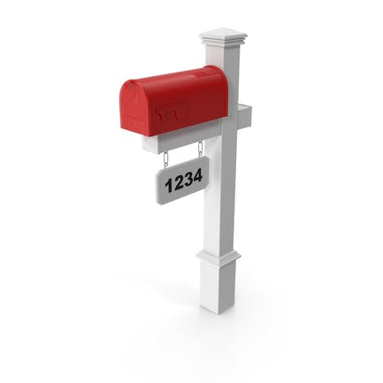 Classic Mailbox Wooden Stand