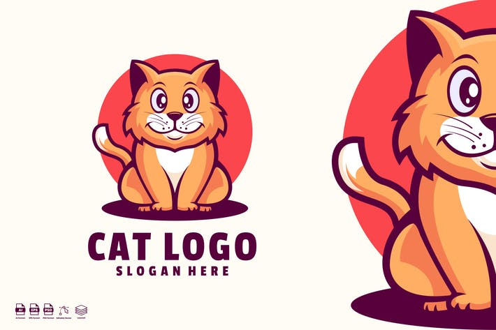 Cat Logo Templates
