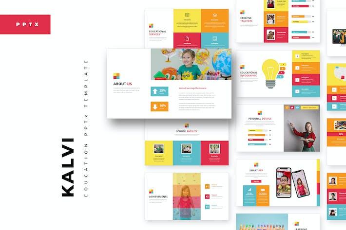 Thumbnail for Kalvi :: Education Powerpoint Template
