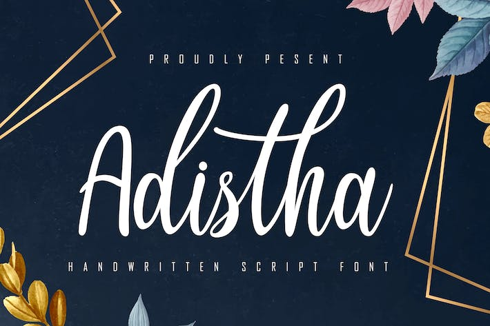 Thumbnail for Adistha Handwritten Script