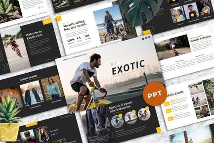 Exotic - Creative PowerPoint Template