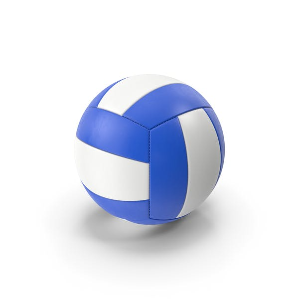 Volleyball White Blue