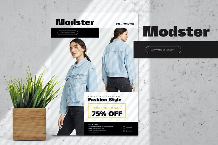Thumbnail for Modster Open Store Flyer