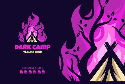 Dark Camp Elegant Logo