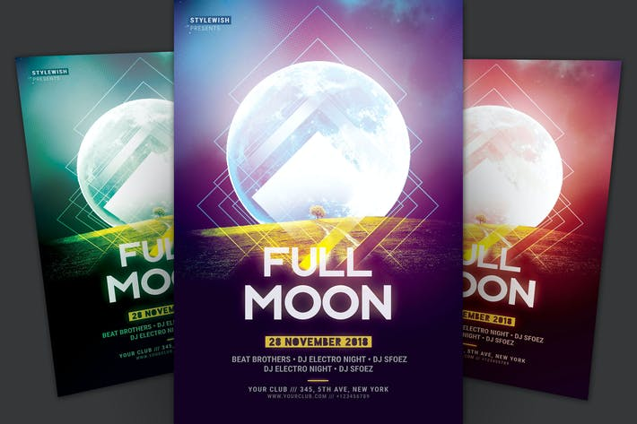 Cover Image For Full Moon Flyer