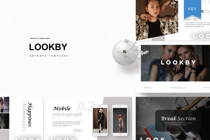 Lookby | Keynote Template