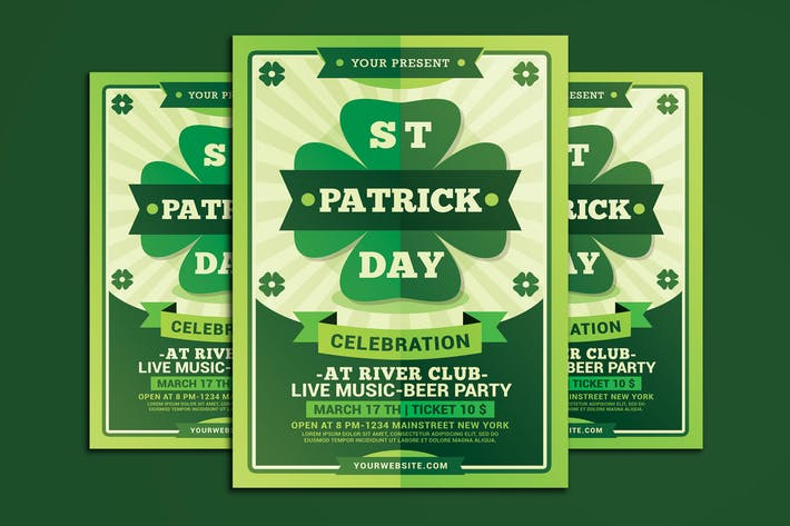 Thumbnail for St Patricks Day Flyer
