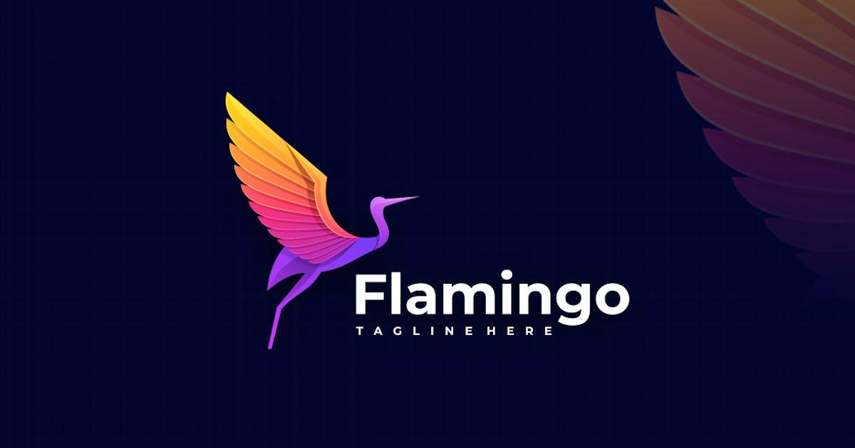 Download Flamingo Gradient Colorful Logo by artnivora_std