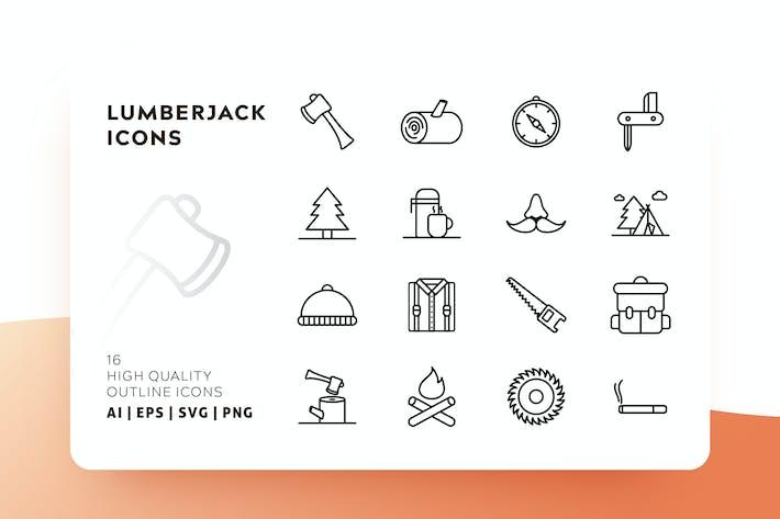 Thumbnail for LUMBERJACK OUTLINE