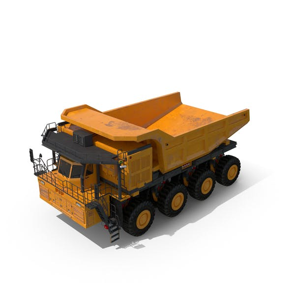 Cover Image for Mining Truck