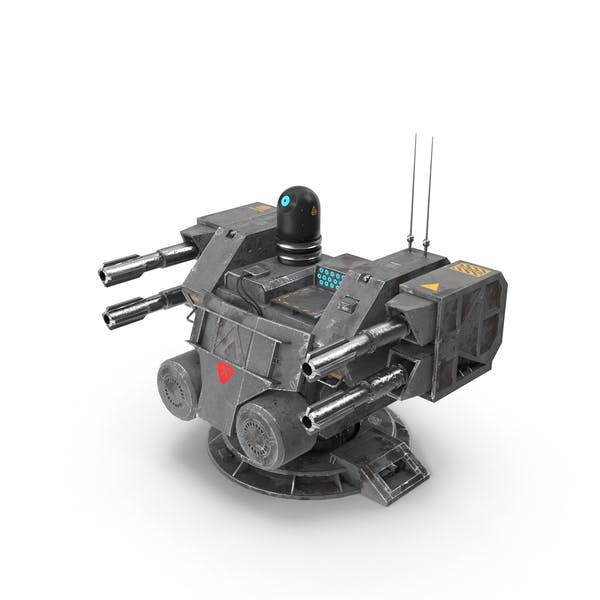 Thumbnail for Sci-Fi Turret