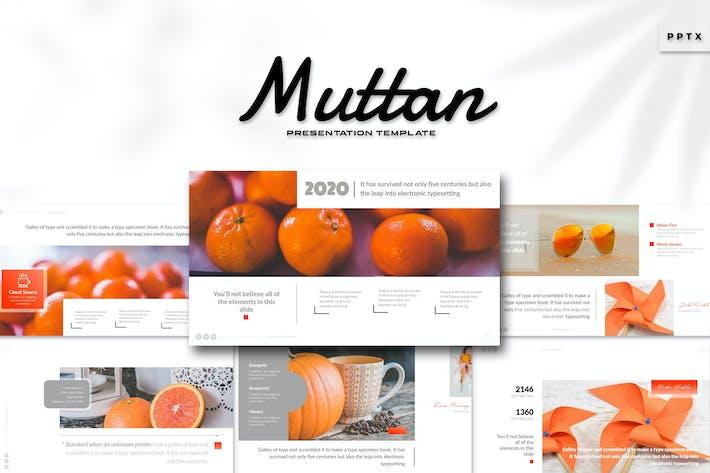 Muttan - Powerpoint Template